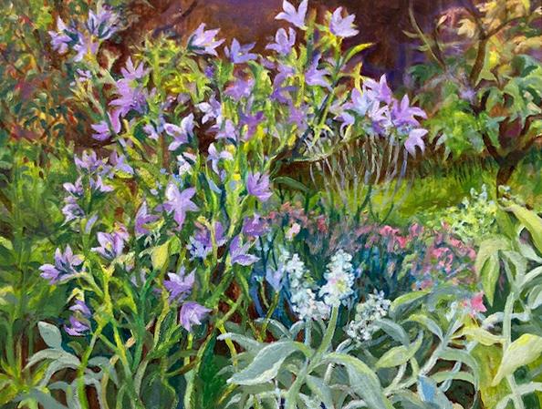 Harebells in the Garden (Joan Jeans)