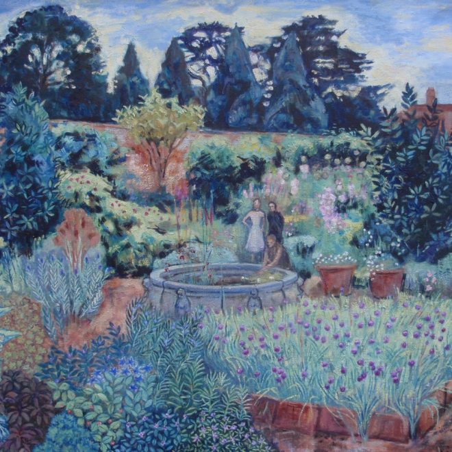 Herb Garden Kentwell Hall (Victoria Parker-Jervis)