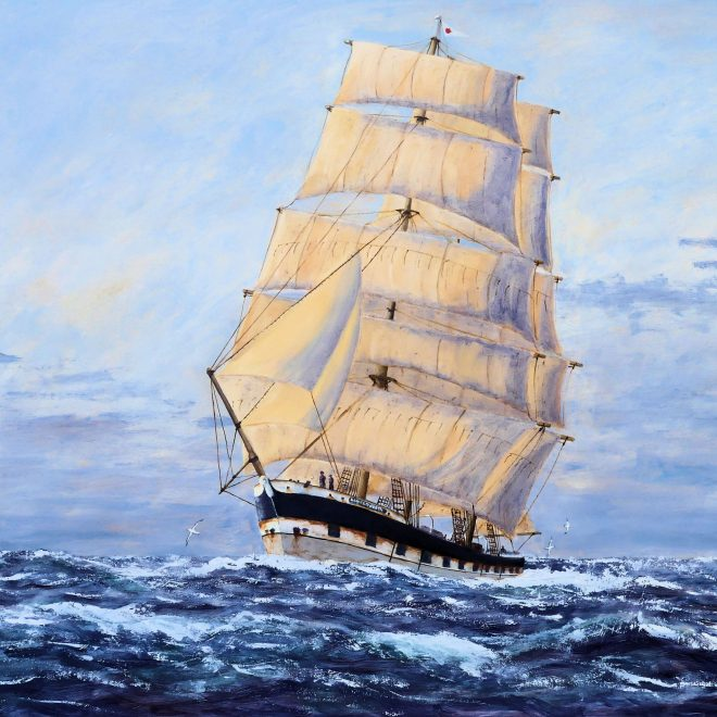 Lady-Elizabeth-bound-for-Valparaiso-round-the-Horn-(Paul-Rodhouse)