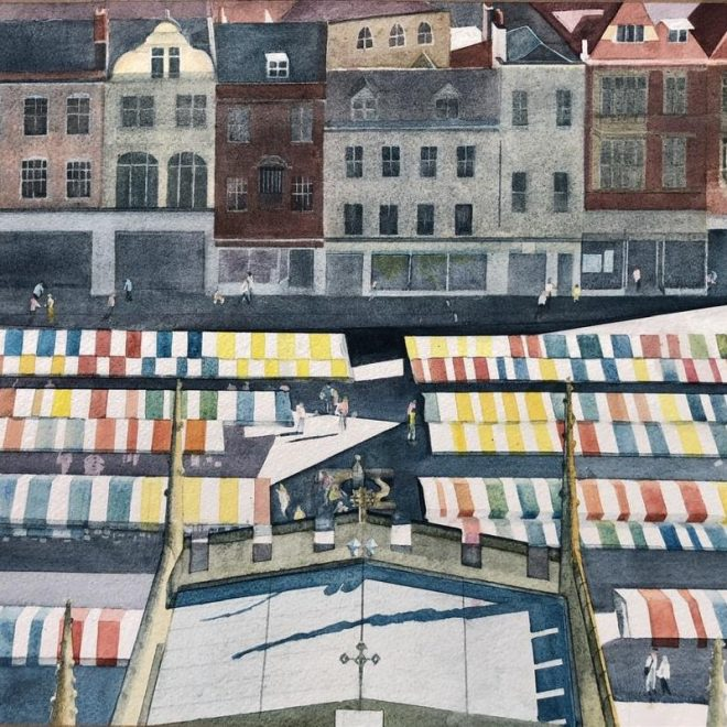 On Top of the Market (Mel Collins)