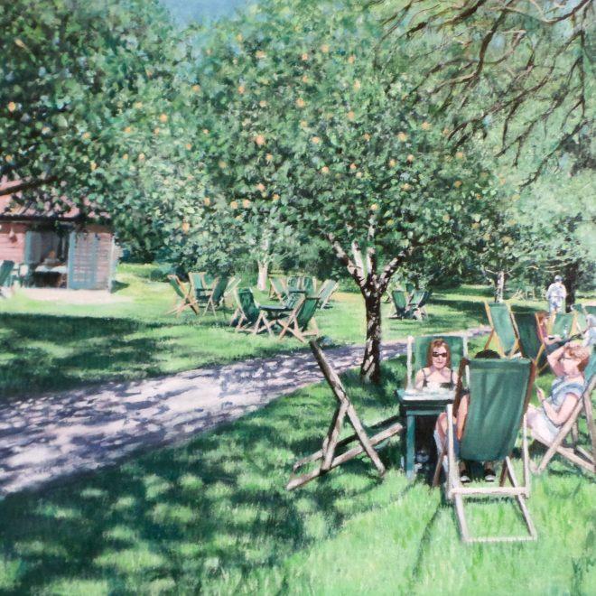 Orchard Tea Gardens Granchester (Vivienne Machell)