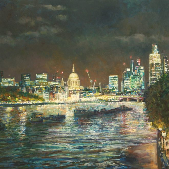 Reflections-Over-The-Thames-(John-Glover)