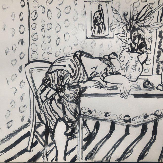 Sleeping,-Still-Life-(Louise-Faure-Walker)